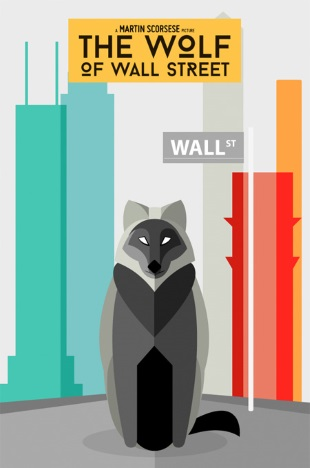 Poster literal The Wolf of Wall Street
