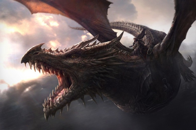 Aegon e Balerion