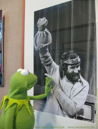 Kermit e Jim Henson