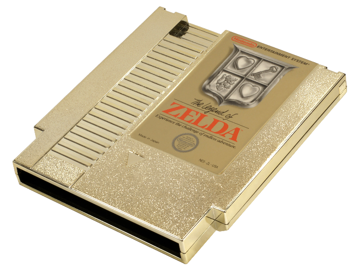CArtucho dourado NES