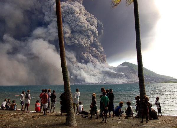 Erupção Tavurvur