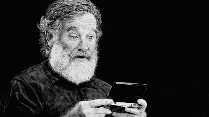 Tributo a Robin Williams no Wii U Gamepad