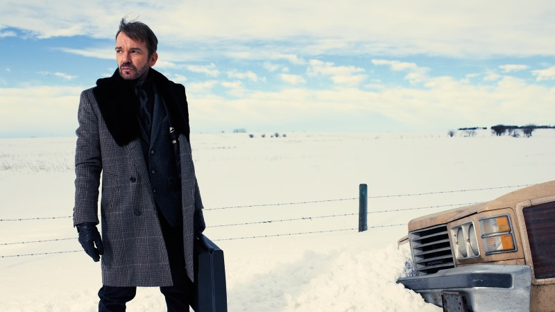 FARGO -- Pictured: Billy Bob Thornton as Lorne Malvo -- CR: FX/Matthias Clamer