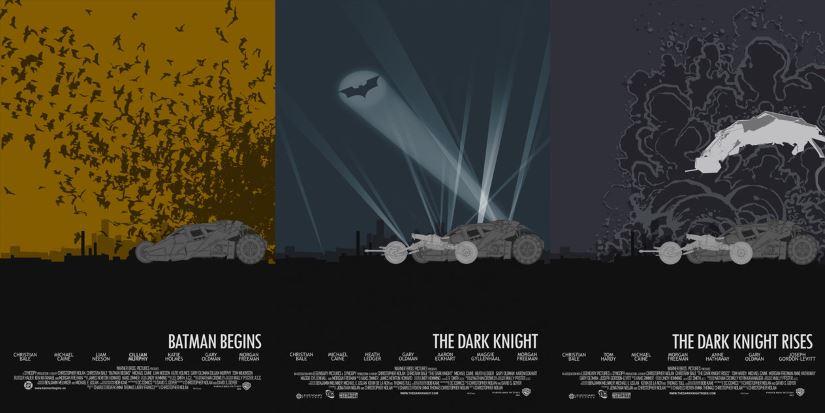 Trilogia Batman, por Edgar Ascenção