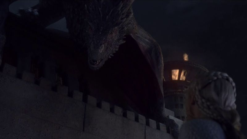 Drogon misses mommy 2