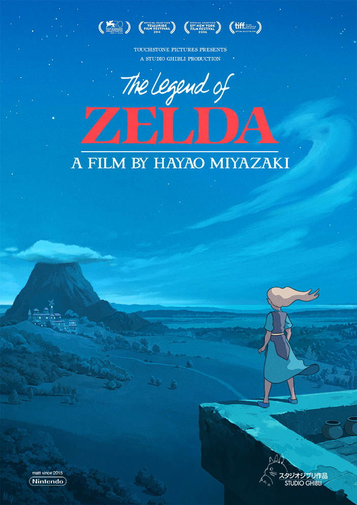 Zelda Studio Ghibli