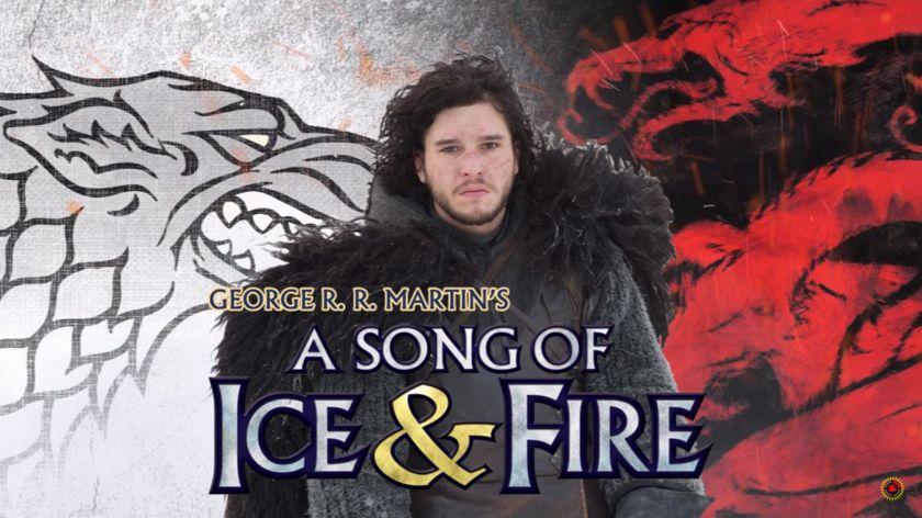 """Será Jon Snow a """"canção de gelo efogo""""?"""