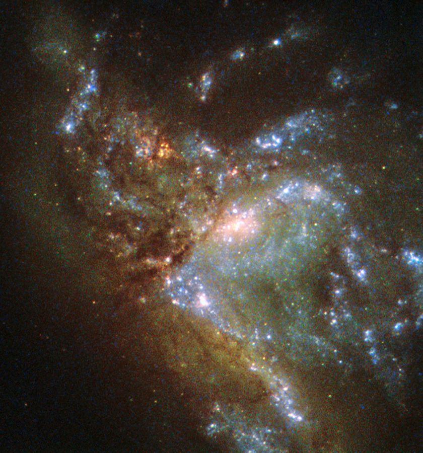 Galáxias chocando