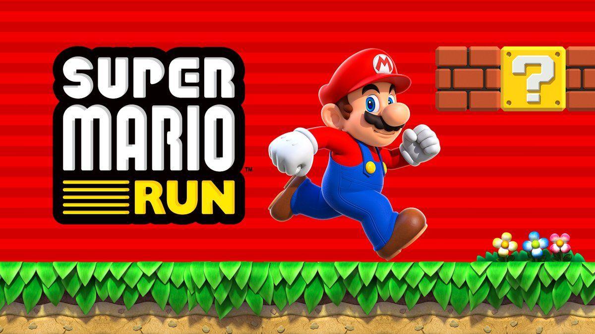 Super Mario chega aossmartphones