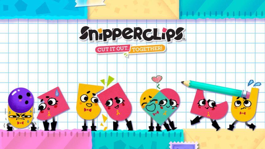 Snipperclips: fazendo os cortesjuntos